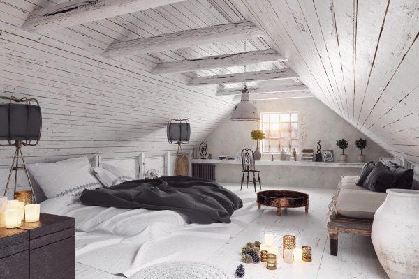 Dachboden schlafzimmer Vorschau